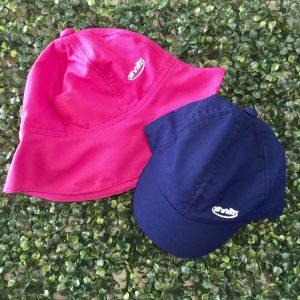 Bonés e chapéus com proteção UV